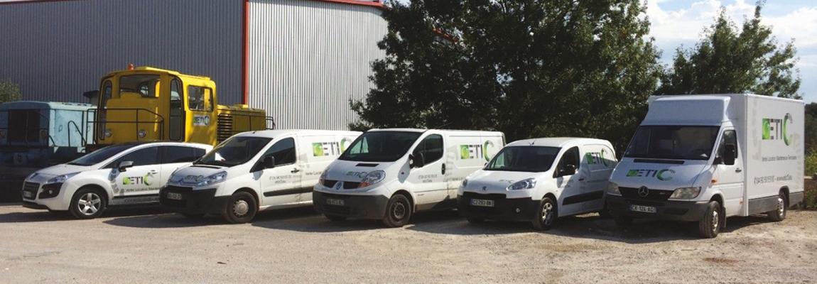 Etic TP - Dépannage et Maintenance sur Site et en Atelier