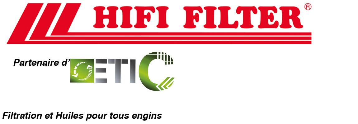 Etic TP partenaire Hififilter pour les filtration et huiles